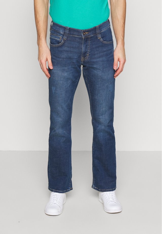 OREGON - Jeans Bootcut - denim blue