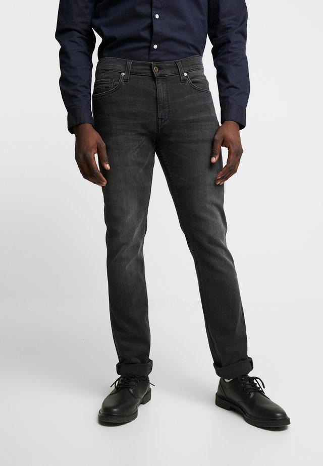 VEGAS - Slim fit jeans - denim black