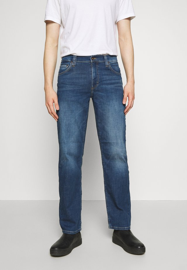 BIG SUR - Bootcut jeans - blue denim