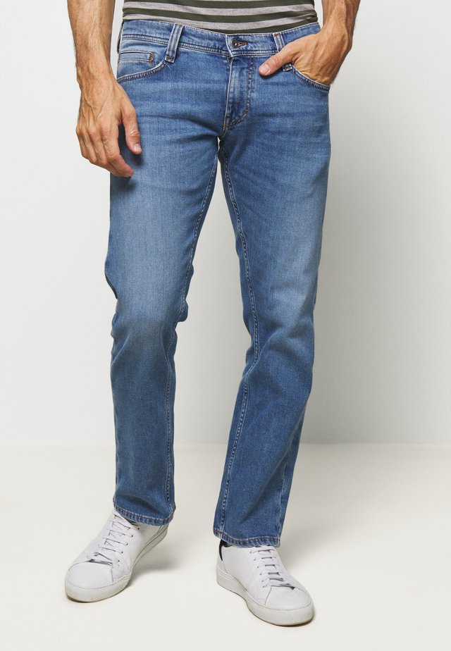 OREGON STRAIGHT - Jeans Straight Leg - denim blue