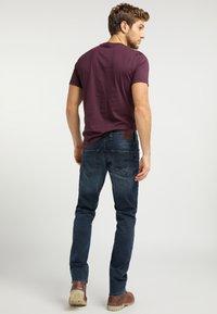 Mustang - OREGON  - Slim fit jeans - blue - 2