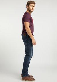 Mustang - OREGON  - Slim fit jeans - blue - 3