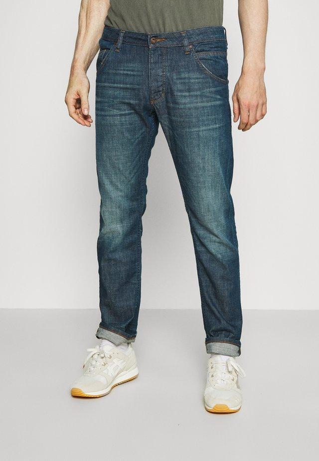MICHIGAN - Flared jeans - dark