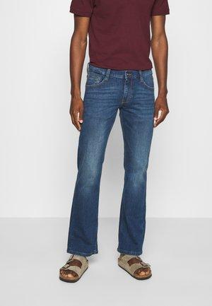 OREGON  - Jeans Bootcut - blue denim
