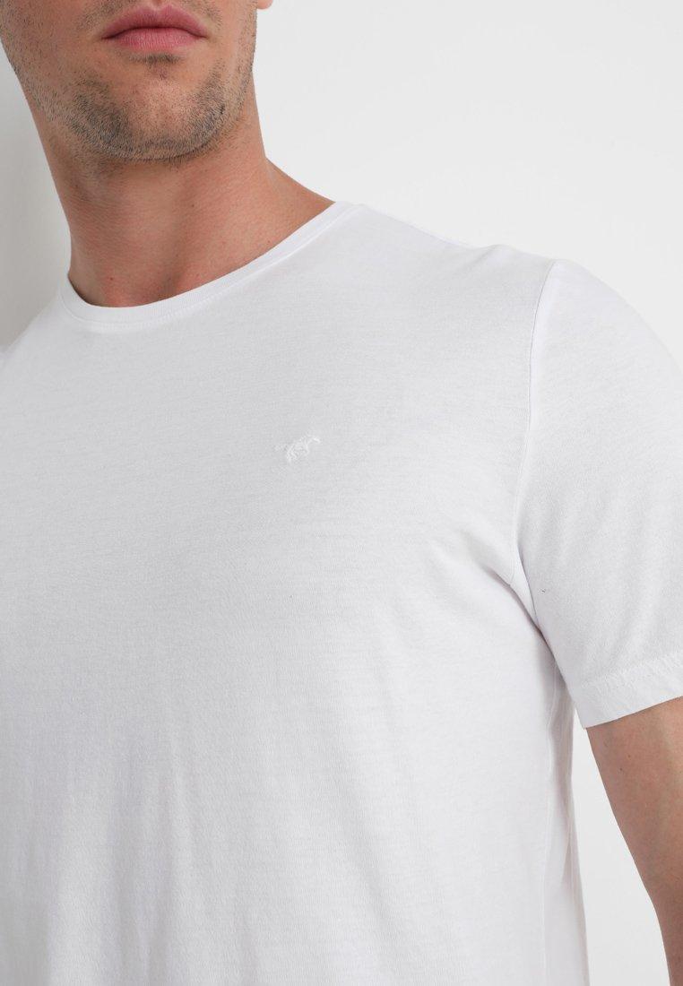 neck White C Mustang 2 shirt PackT Basic LSpjqMVGUz