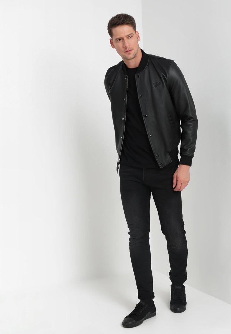 Mustang C-NECK 2 PACK - T-shirt basic - black