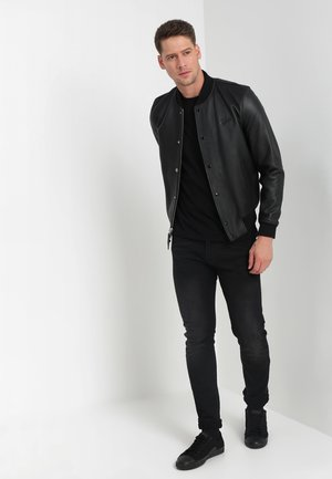 C-NECK 2 PACK - Basic T-shirt - black