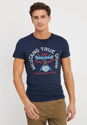 TEE - T-shirt imprimé - dress blues