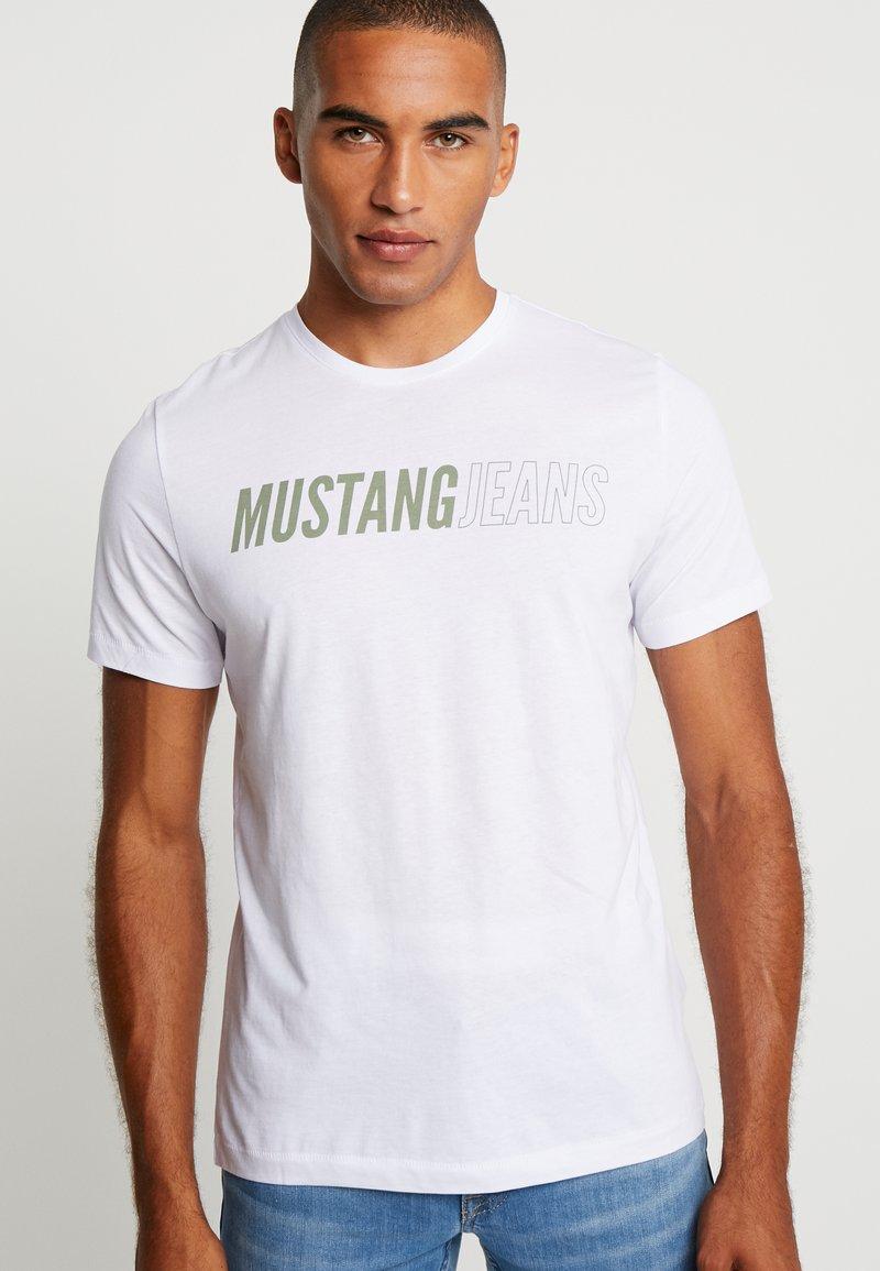 Mustang - ALEX  - T-shirt print - general white