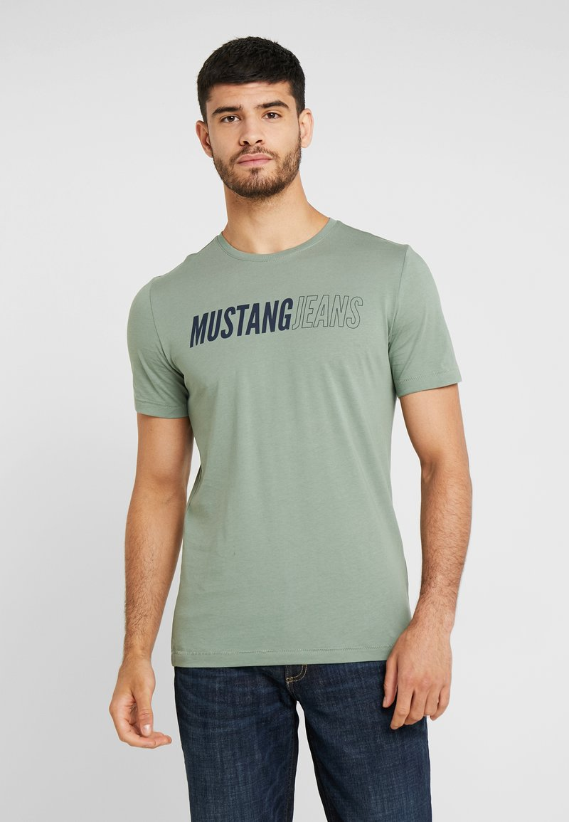Mustang - ALEX  - T-shirt print - sea spray