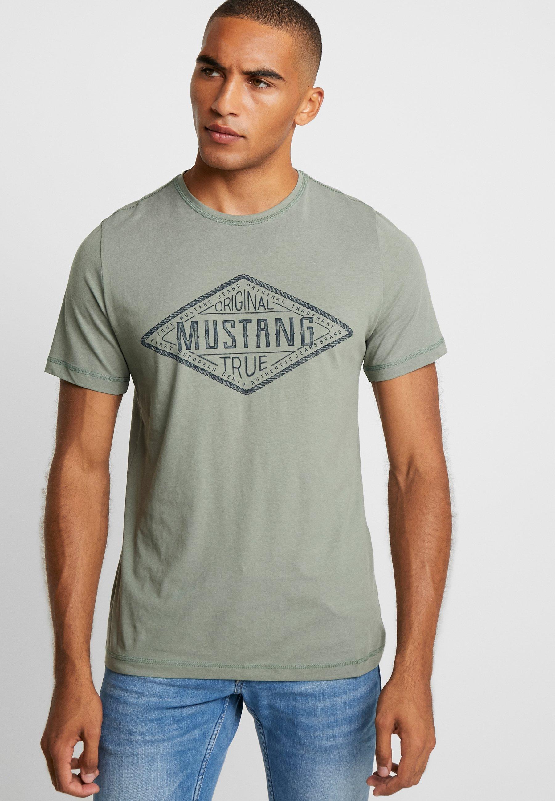 AlexT Sea shirt Imprimé Mustang Spray oedBrCxW