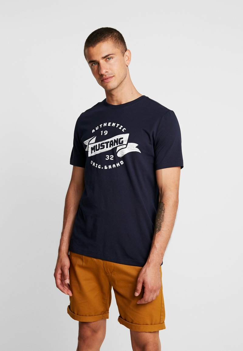 Mustang - ALEX - T-Shirt print - dark saphire