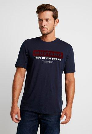 ALEX - T-shirt imprimé - dark saphire
