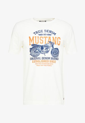 MOTORBIKE TEE - T-shirt con stampa - cloud dancer