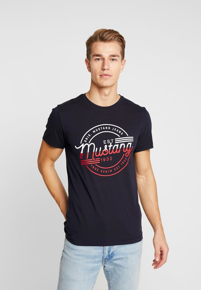 AARON - T-Shirt print - dark blue
