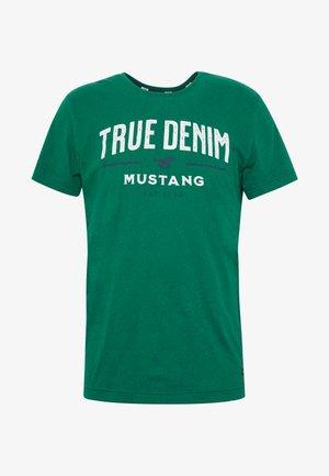 AARON - Camiseta estampada - evergreen