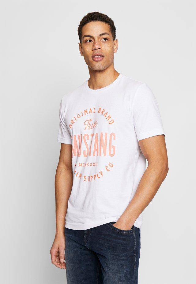 ALEX  - T-shirt print - general white