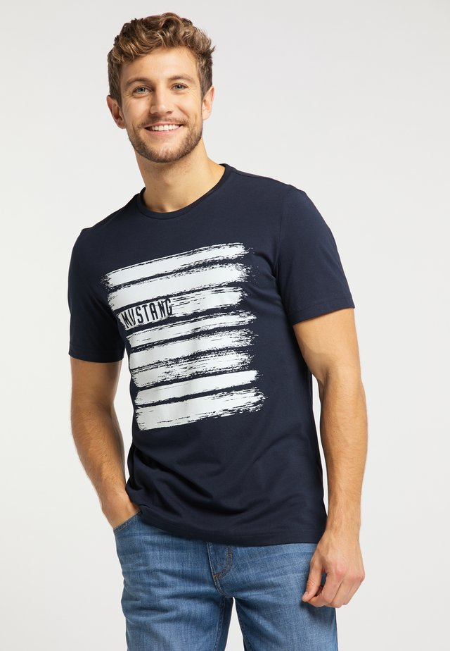 ALEX  - T-Shirt print - dark blue