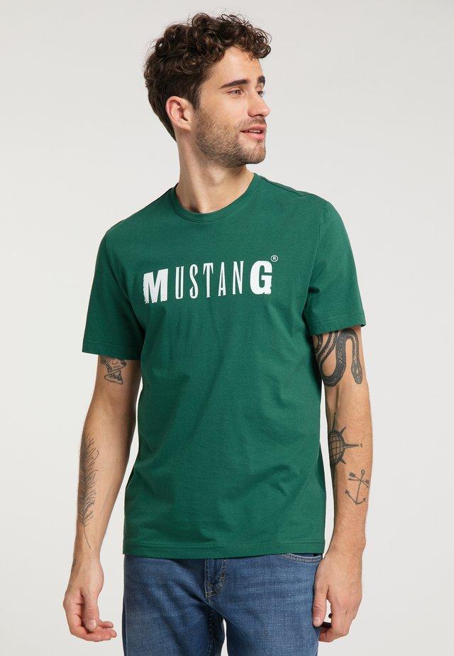 ALEX  - Print T-shirt - green