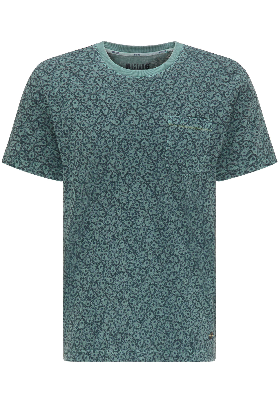 Mustang Print T-shirt - green