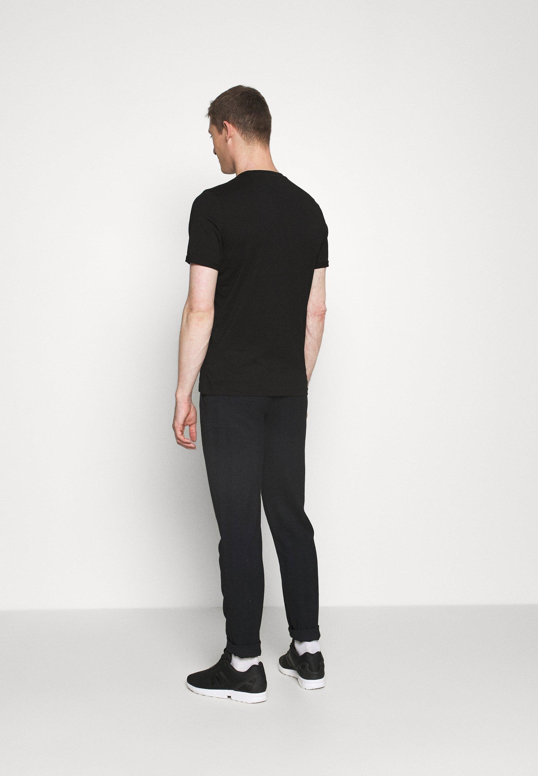Mustang ALEX C - Print T-shirt - black C3Ufq