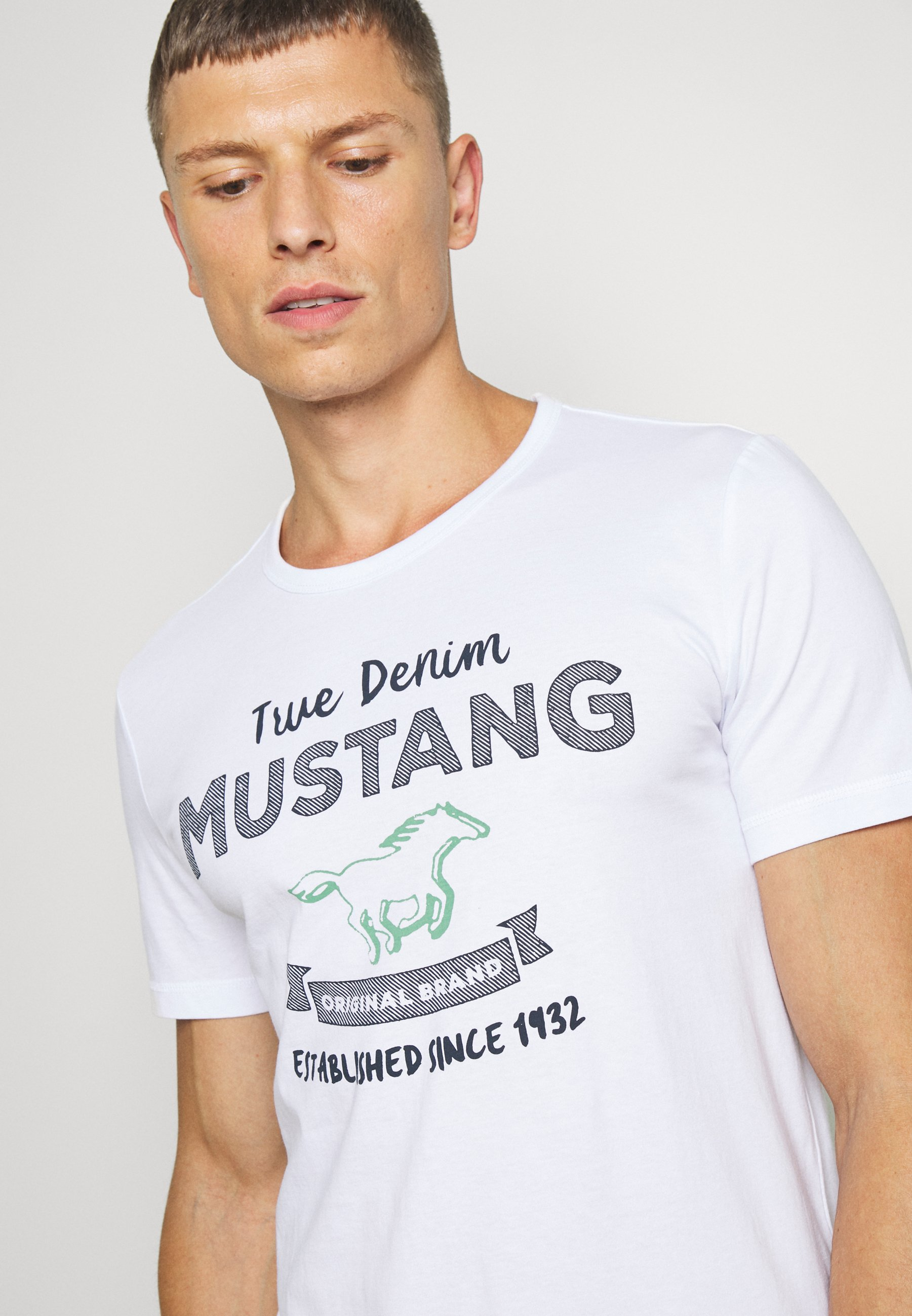 ALEX PRINT T shirt print general white