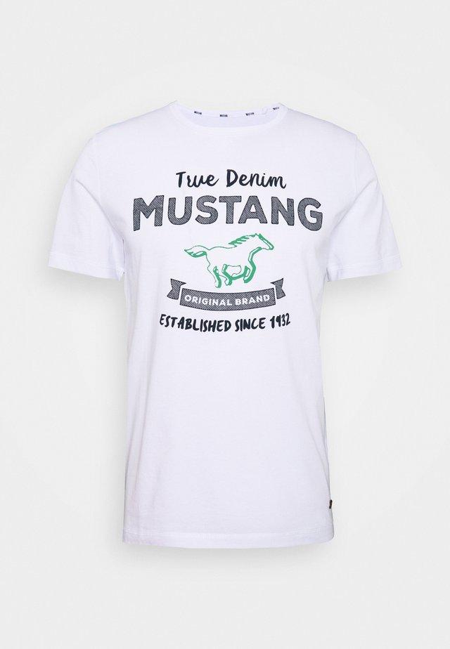 ALEX PRINT - T-shirts print - general white