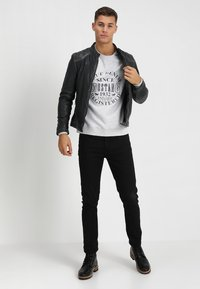 Mustang - EMBRO - Sweatshirt - light grey melange - 1