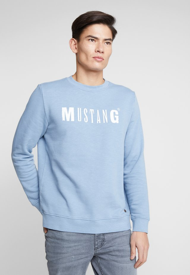 BEN LOGO - Sweatshirt - faded denim