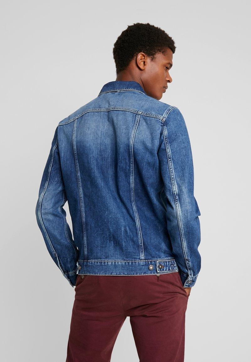 Blue JacketVeste Jean Mustang York Dark En New sothQBdCxr