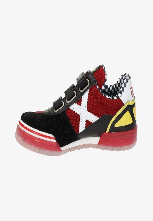 Sneakers hoog - rood