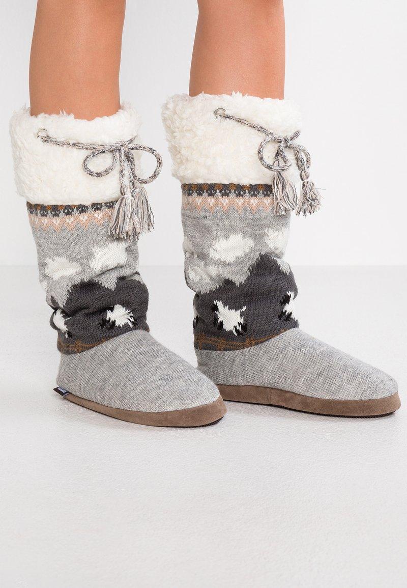 Muk Luks - GRACE - Slippers - grey heather