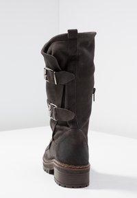 Musse & Cloud - MARVIN - Kovbojské/motorkářské boty - grey - 5