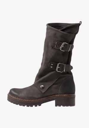 MARVIN - Cowboy/Biker boots - grey