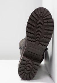 Musse & Cloud - MARVIN - Kovbojské/motorkářské boty - grey - 6