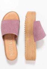Musse & Cloud - KENDRIA - Pantofle na podpatku - lila - 3