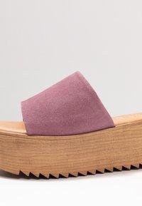 Musse & Cloud - KENDRIA - Pantofle na podpatku - lila - 2