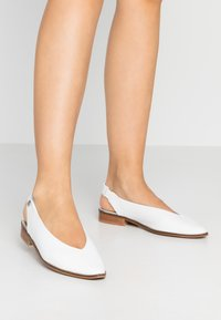 Musse & Cloud - SILA - Slingback ballet pumps - white - 0