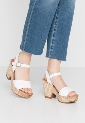 ERA - High heeled sandals - white