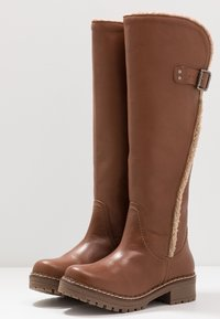 Musse & Cloud - CARLINA - Snowboots  - dark brown - 4