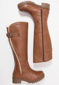 Musse & Cloud - CARLINA - Snowboots  - dark brown - 3