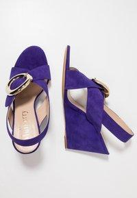 Mulberry - Korolliset sandaalit - purple - 5