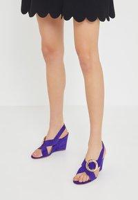 Mulberry - Korolliset sandaalit - purple - 0