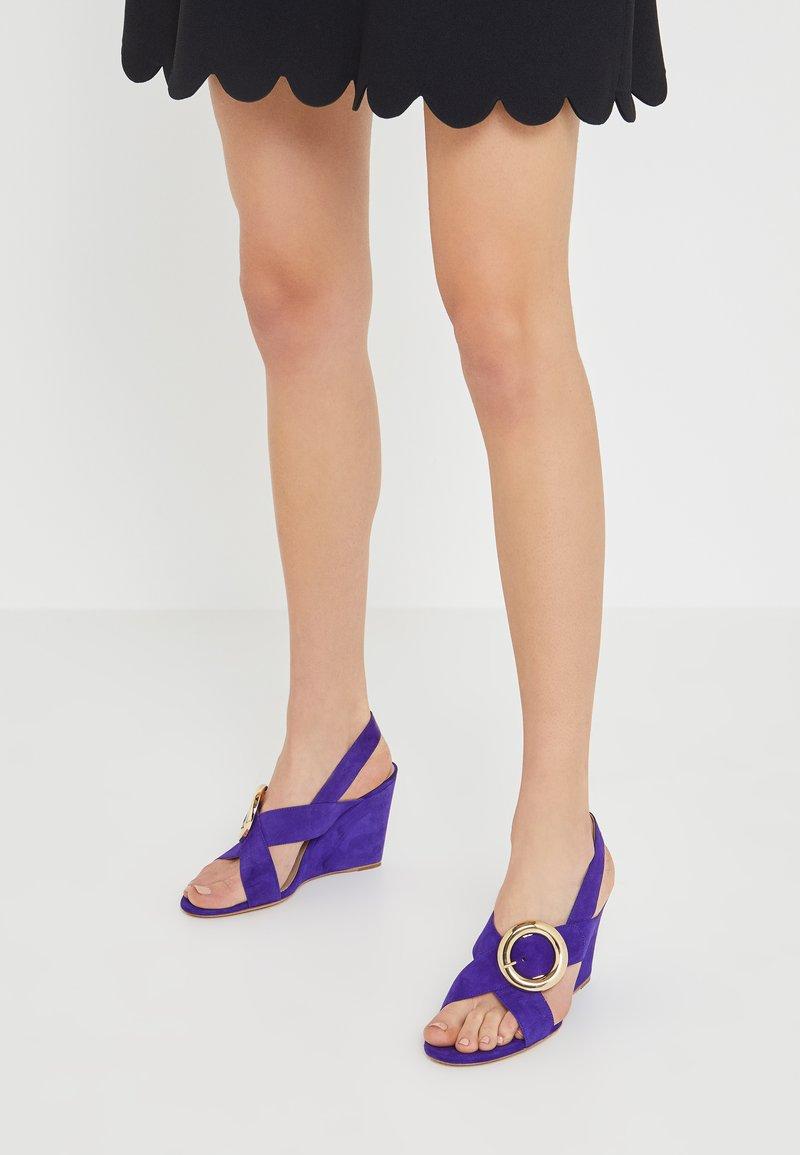 Mulberry - Korolliset sandaalit - purple