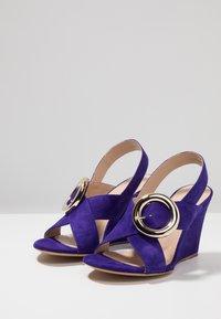 Mulberry - Korolliset sandaalit - purple - 4