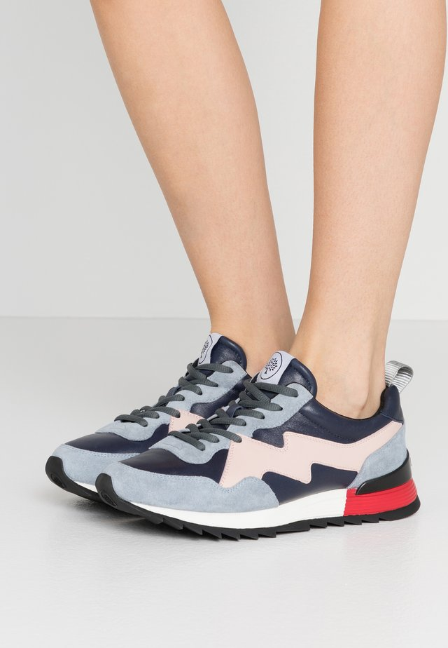 Trainers - blu/pink/gros grey