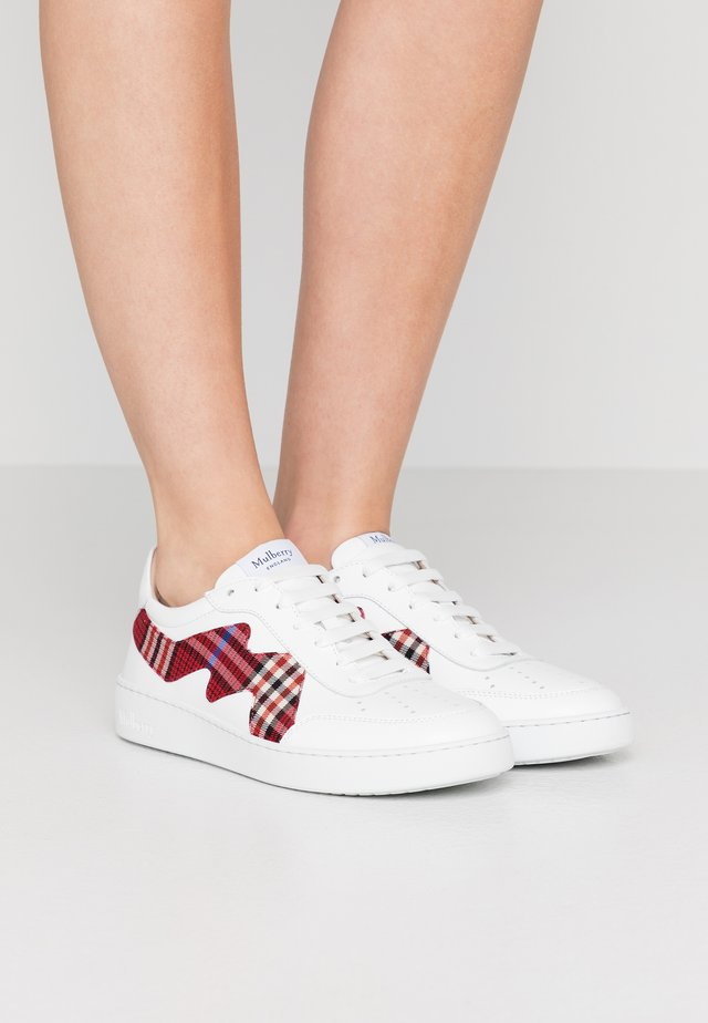 Trainers - bianco/rosso