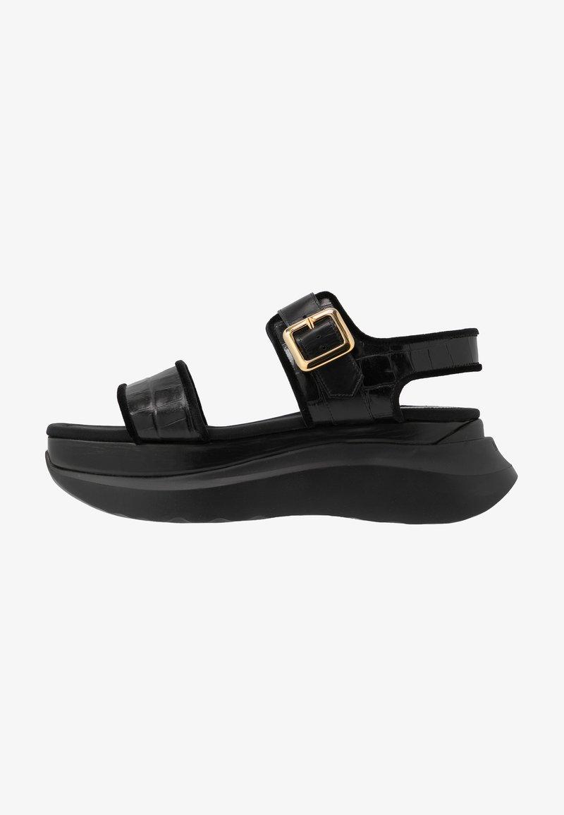 Mulberry - Sandály na platformě - black
