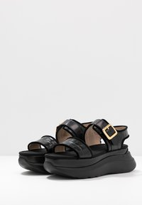 Mulberry - Sandály na platformě - black - 2