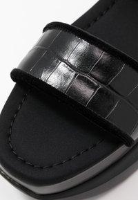 Mulberry - Sandály na platformě - black - 5